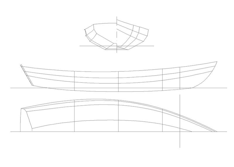 Yacht tender-Lines